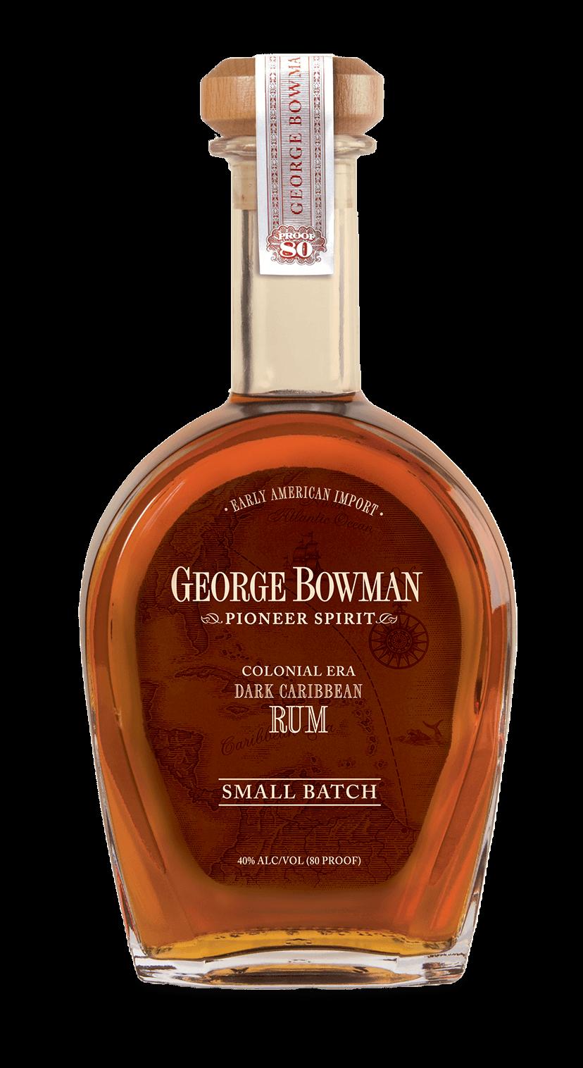 George Bowman | Small Batch Colonial Era Dark Caribbean Rum | A. Smith Bowman Distillery