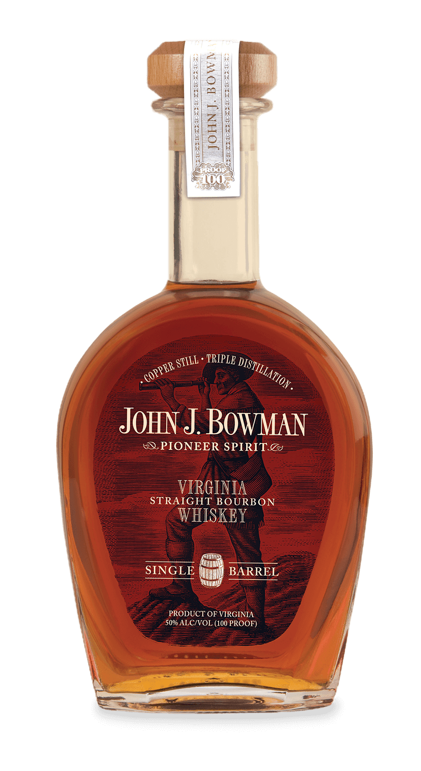 John J. Bowman | Single Barrel Bourbon | A. Smith Bowman Distillery