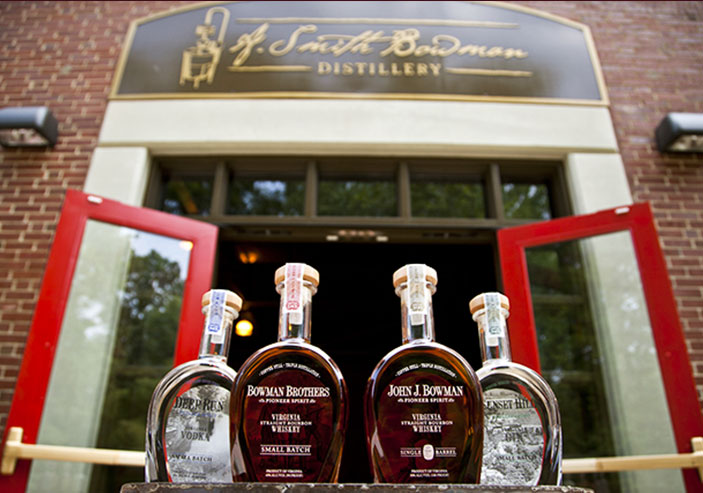 A. Smith Bowman Distillery   Events, Free Tours & More