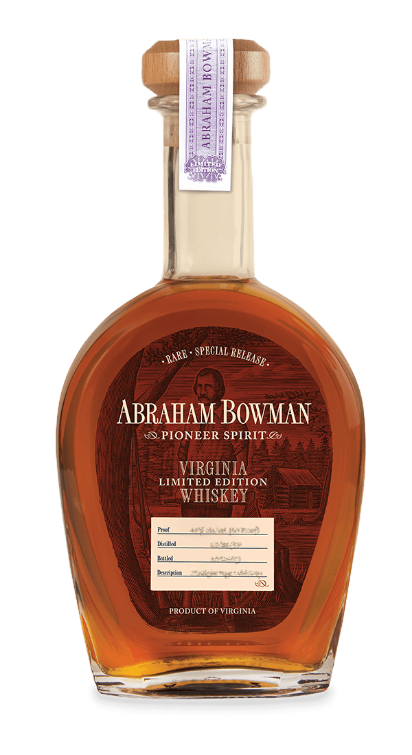 Abraham Bowman | Limited Edition Whiskey | A. Smith Bowman Distillery