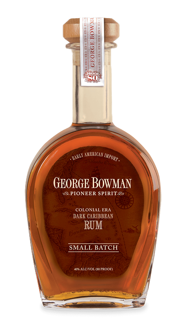George Bowman | Small Batch Colonial Era Dark Caribbean Rum | A. Smith Bowman Distillery