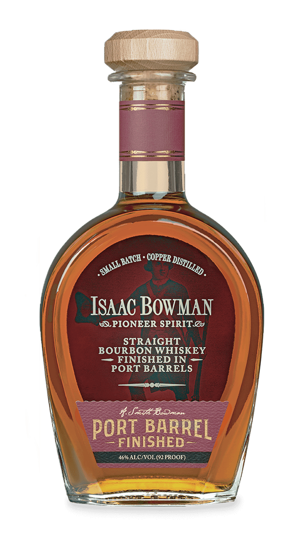 Isaac Bowman Port Barrel Finished Bourbon | A. Smith Bowman Distillery