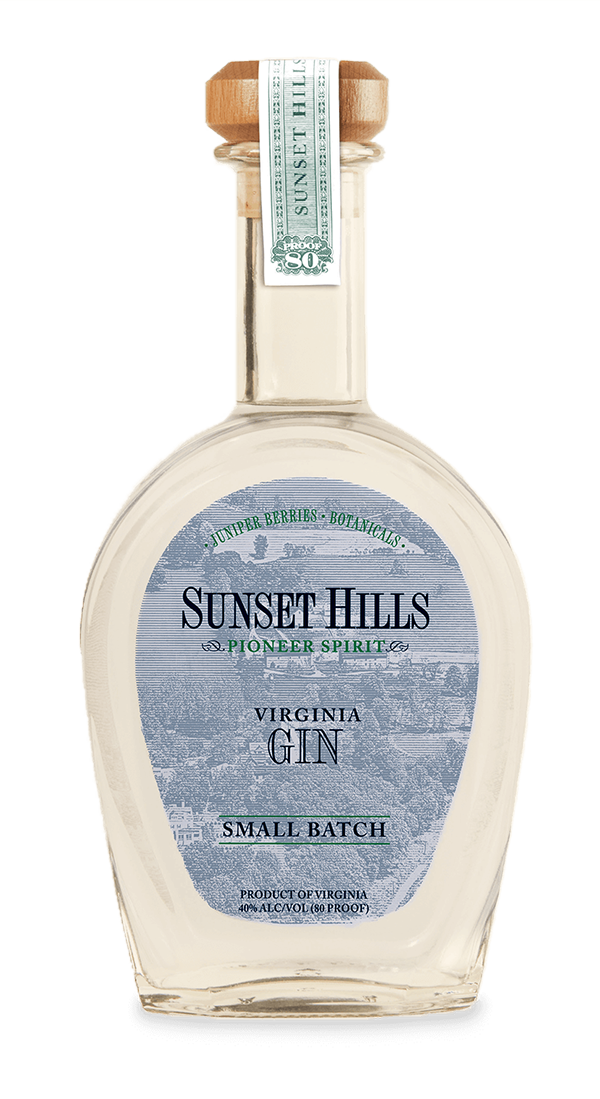 Sunset Hills | Small Batch Virginia Gin | A. Smith Bowman Distillery