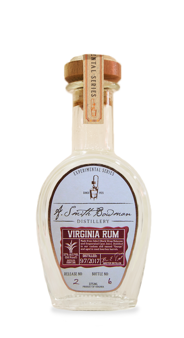 Virginia Rum | Experimental Series | A. Smith Bowman Distillery
