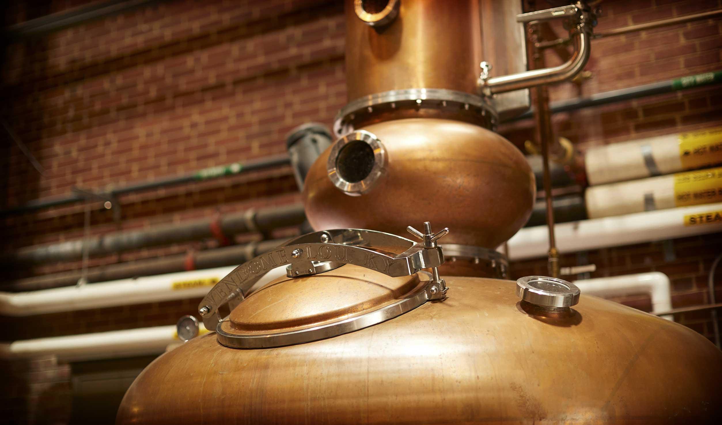 A. Smith Bowman Distillery Still