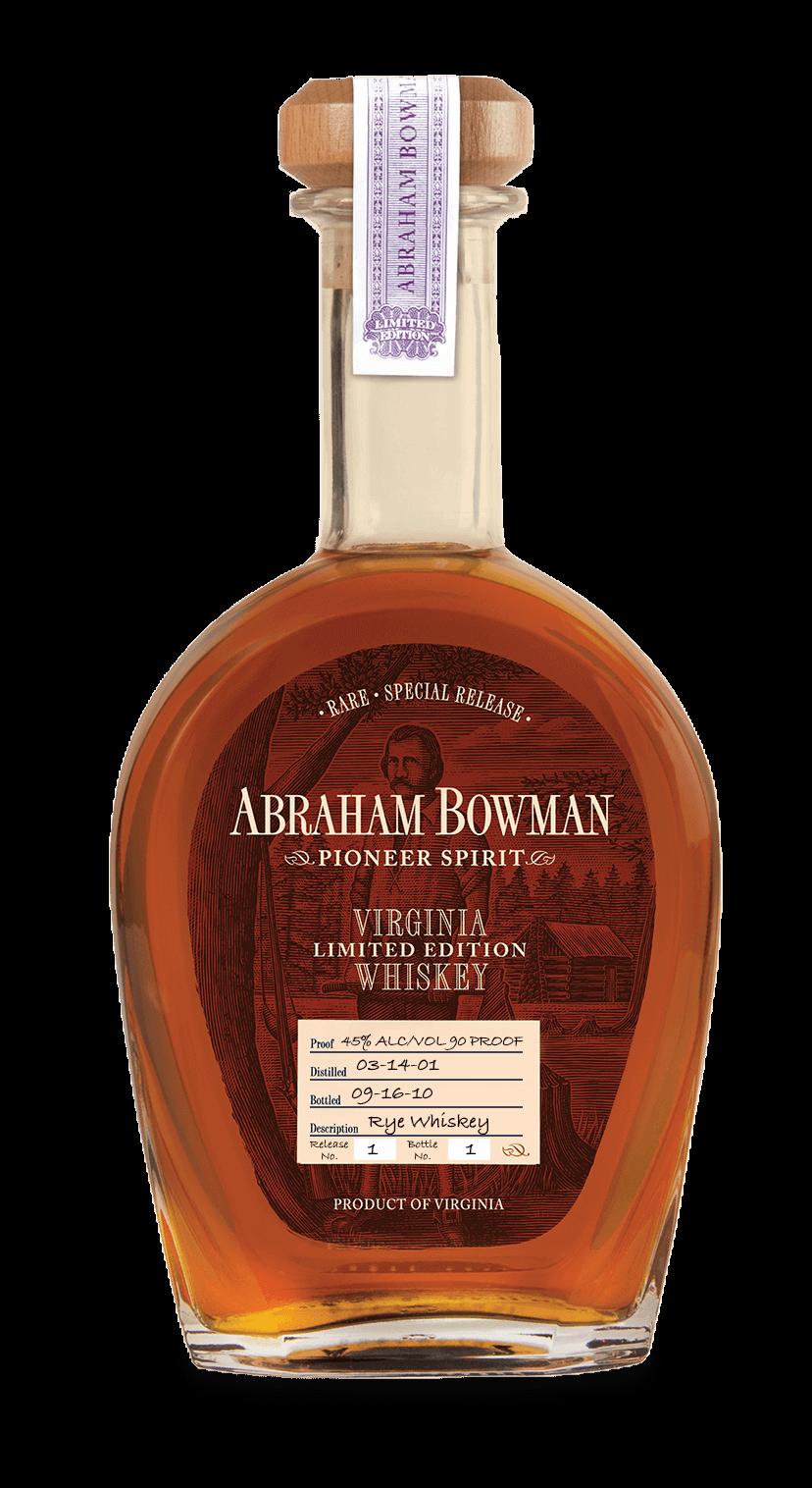1 - A. Smith Bowman - Rye Whiskey