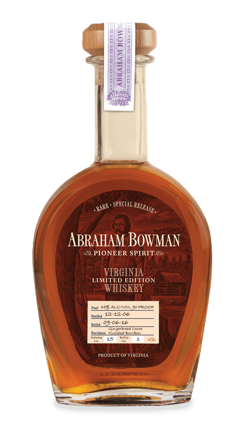 15 - A Smith Bowman - Gingerbread Cocoa Finished Bourbon