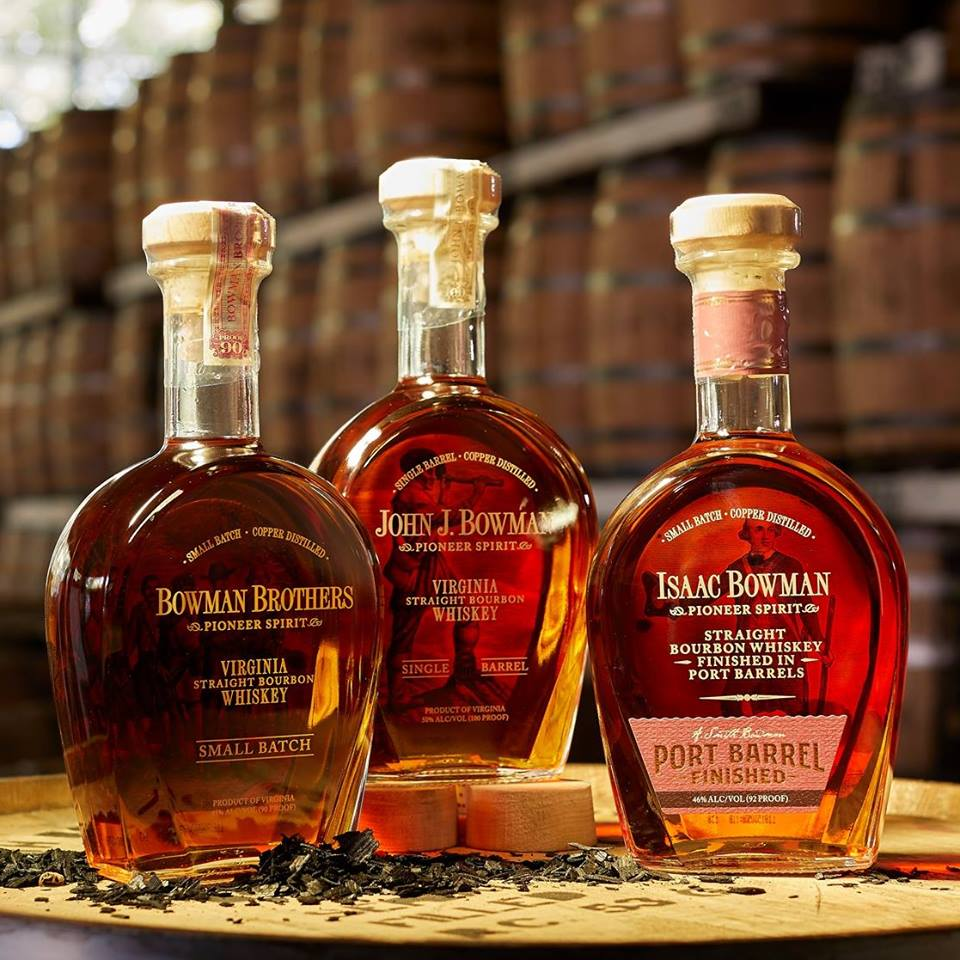 A. Smith Bowman Distillery | Issac Bowman Bourbon