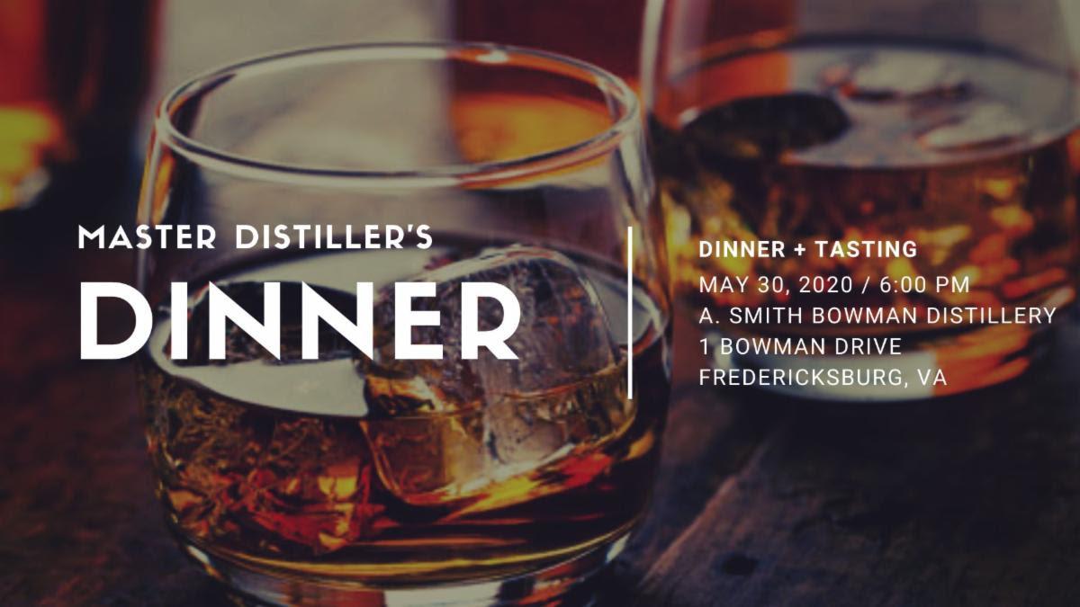 Master Distiller's Dinner