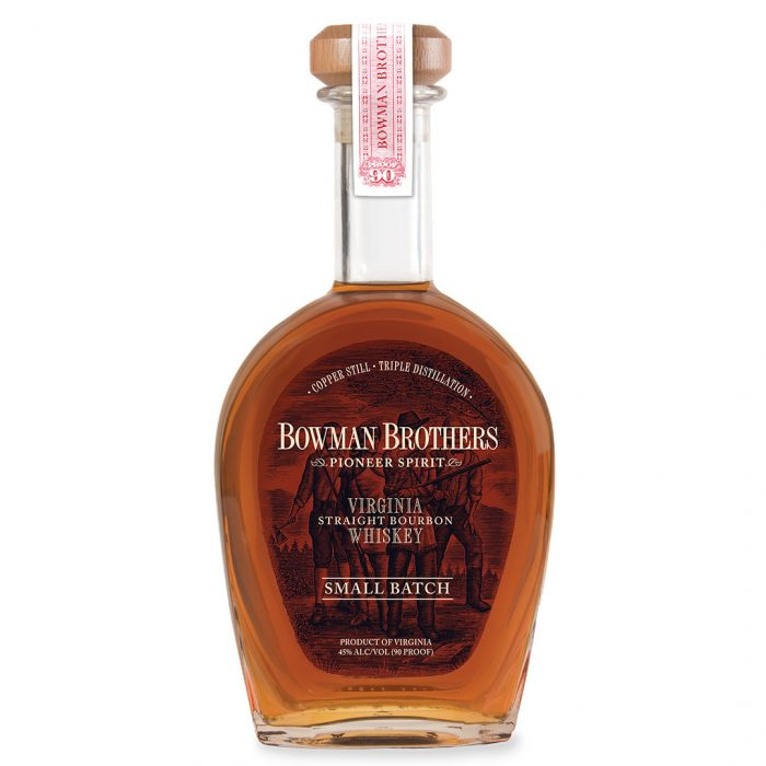 Bottle of Bowman Brothers by A Smith Bowman Distillery