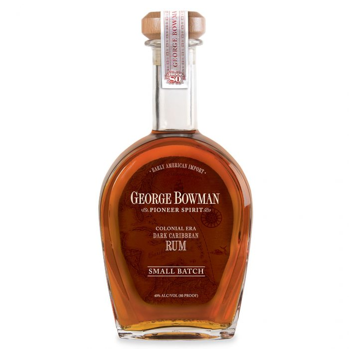 Bottle of George Bowman by A Smith Bowman Distillery