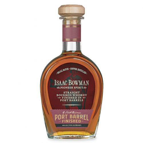 Bottle of Isaac Bowman by A Smith Bowman Distillery