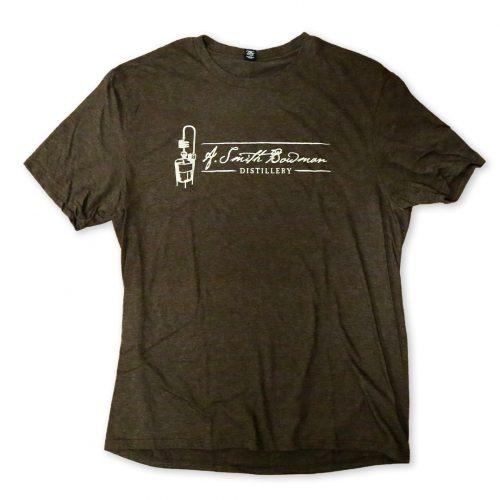 Brown Short Sleeve T-Shirt | A. Smith Bowman Distillery