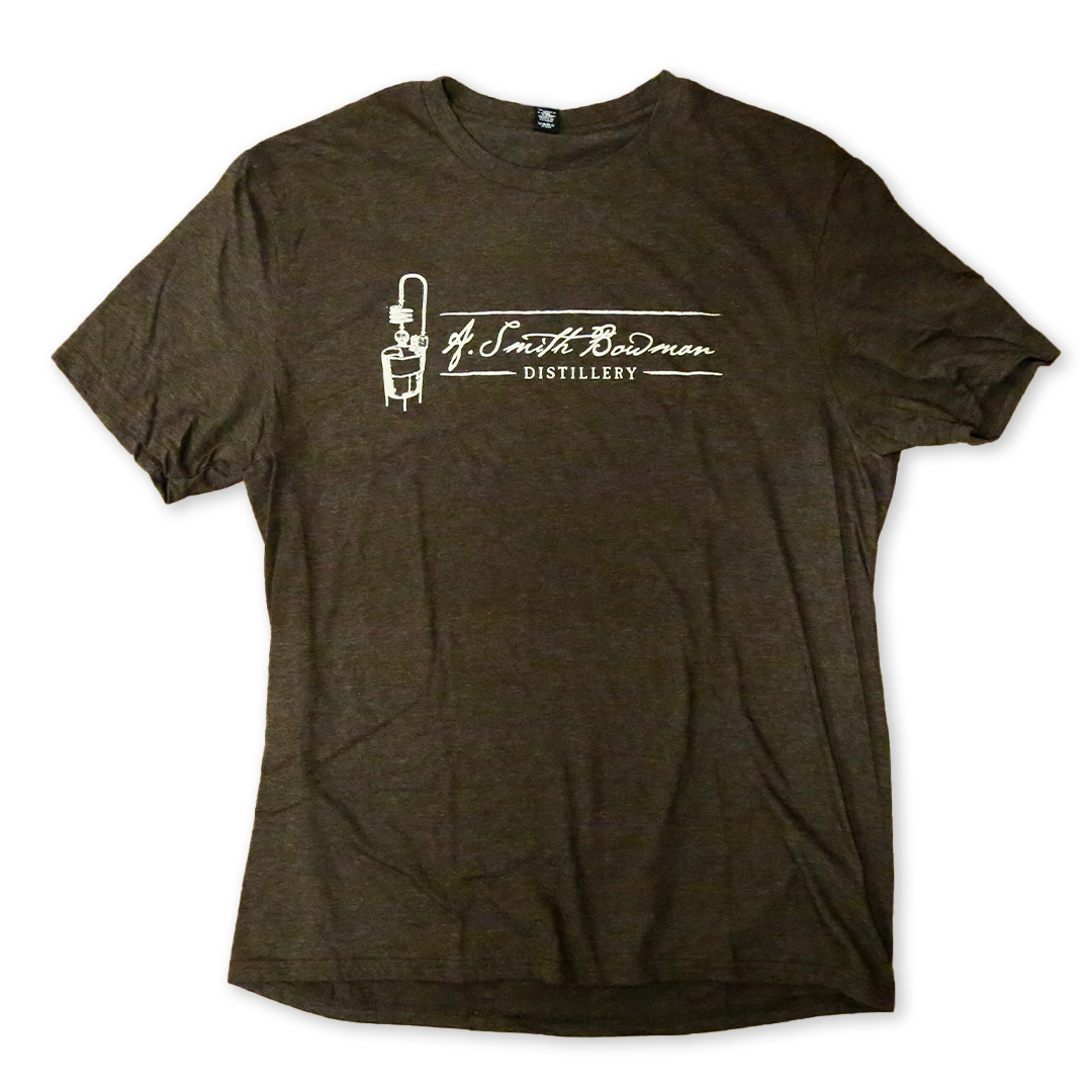 Brown Short Sleeve T-Shirt | A. Smith Bowman Distillery