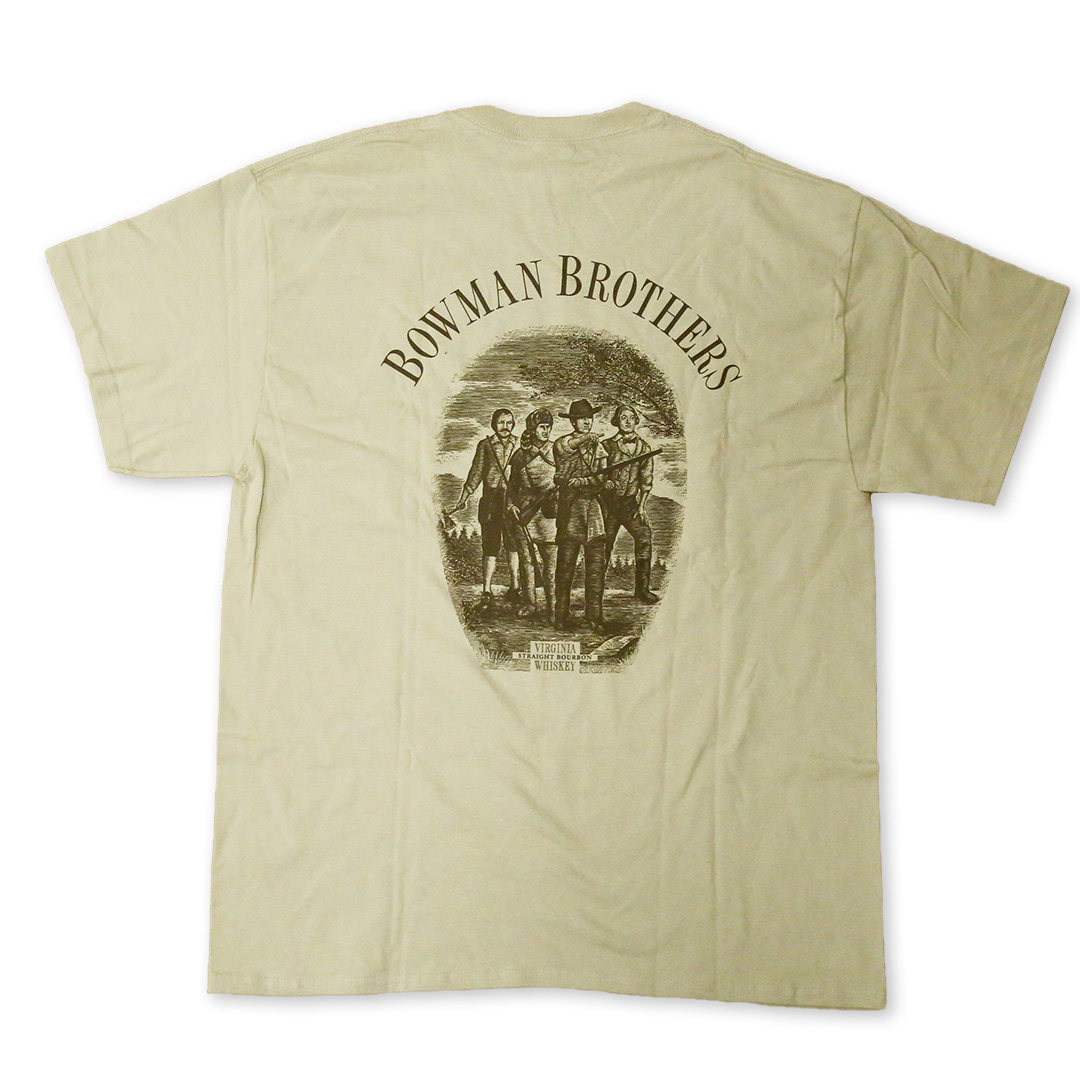 Tan Short Sleeve T-Shirt | Back | A. Smith Bowman Distillery