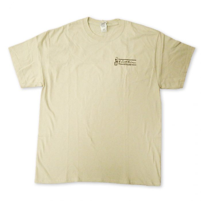 Tan Short Sleeve T-Shirt | A. Smith Bowman Distillery
