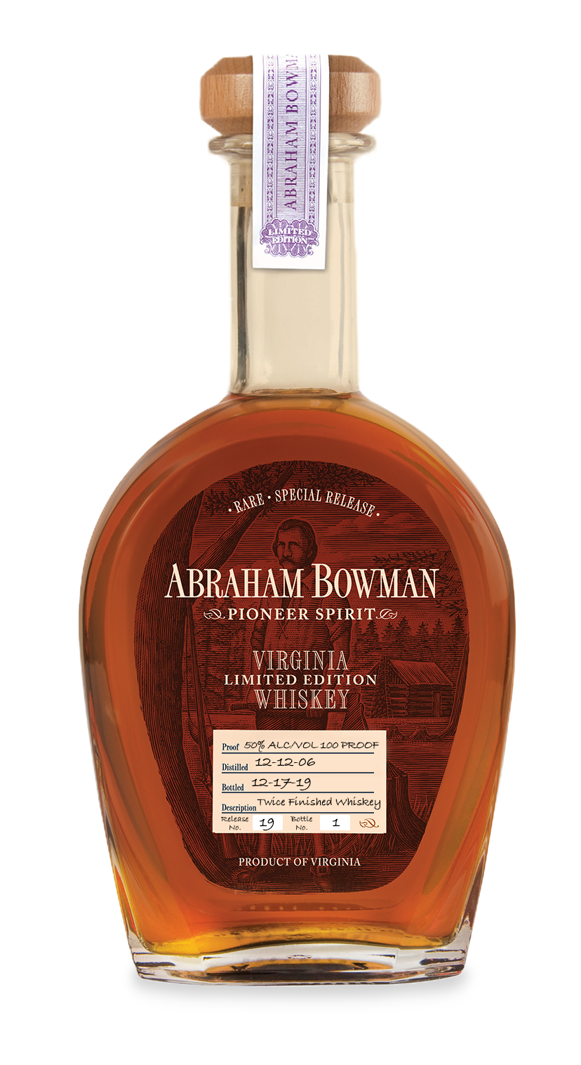 Abraham Bowman | Release 19 | Twice Finished Whiskey | A. Smith Bowman Distillery