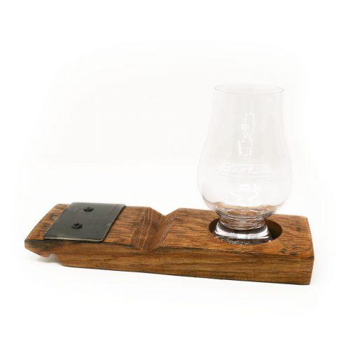 A. Smith Bowman Distillery Product | Cigar Holder with Glencairn Glass