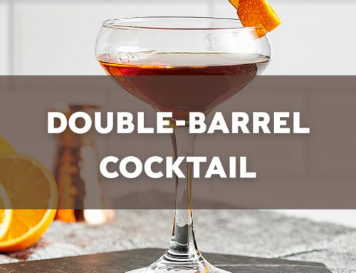 Double-Barrel Cocktail