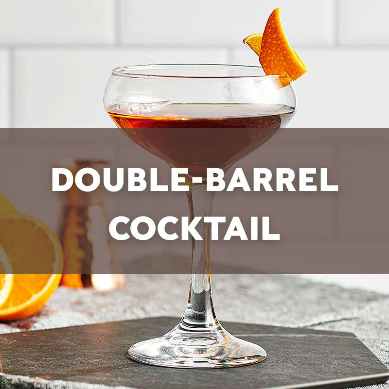 Double-Barrel | Cocktail | A. Smith Bowman Distillery