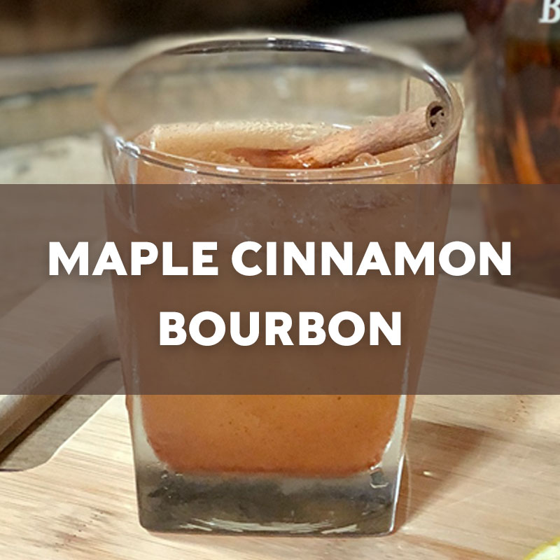 Maple Cinnamon Bourbon | Cocktail | A. Smith Bowman Distillery