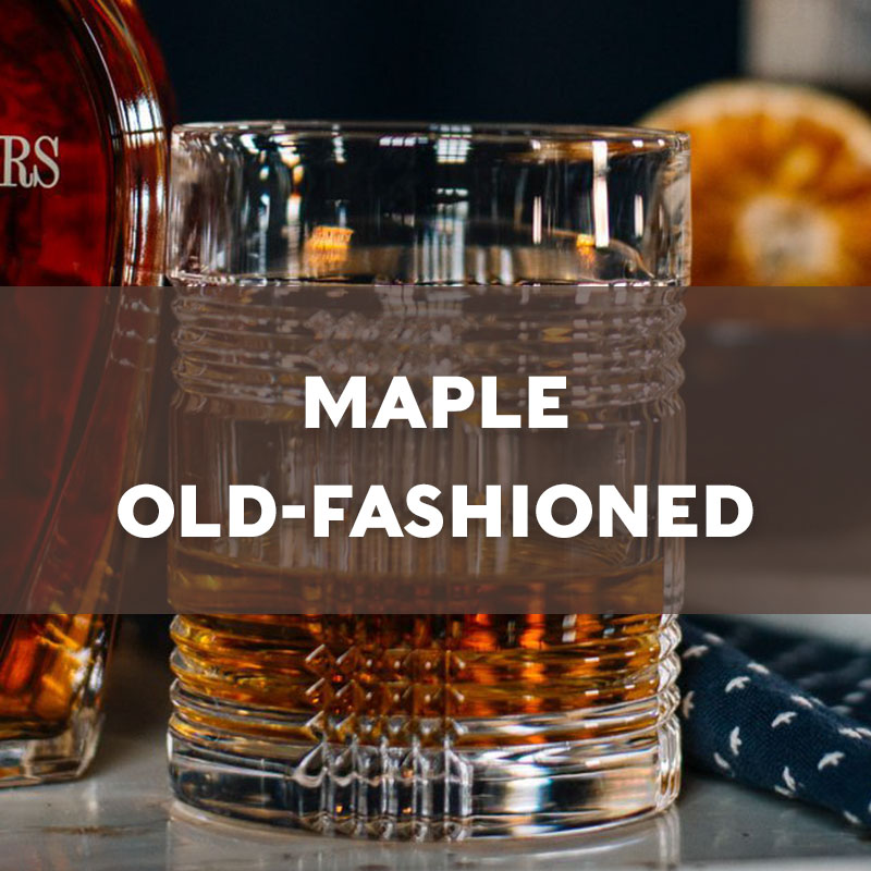 Maple Old-Fashioned | Cocktail | A. Smith Bowman Distillery