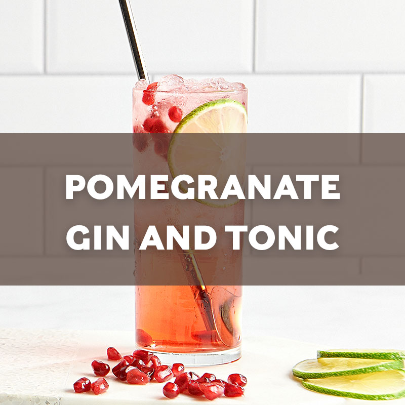 Pomegranate Gin and Tonic | Cocktail | A. Smith Bowman Distillery