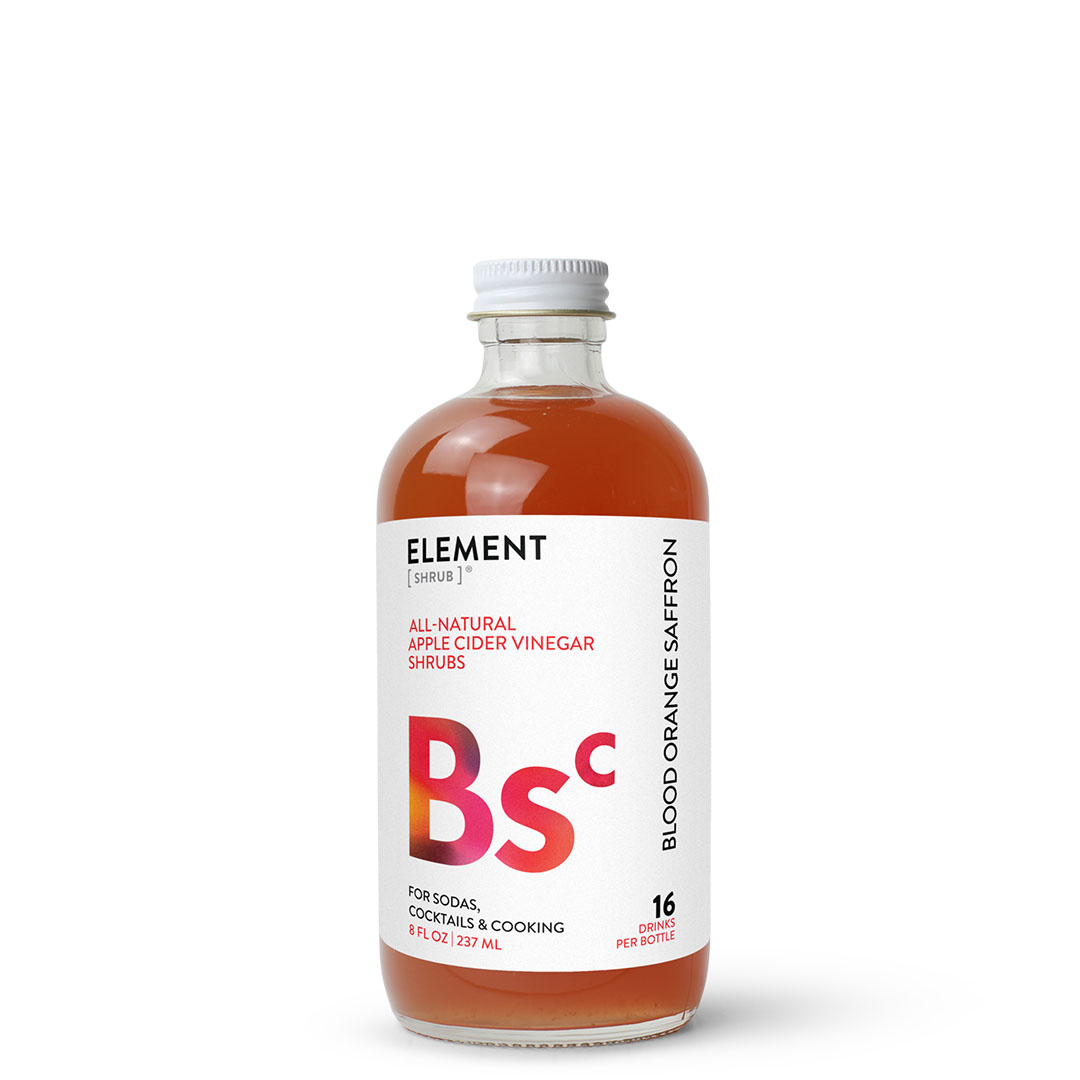 ELEMENT Products | Blood Orange Saffron Shrub