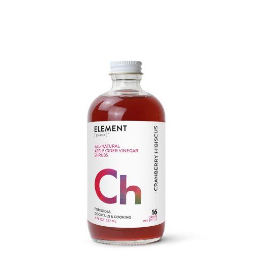 ELEMENT Products | Cranberry Hibiscus Shrub