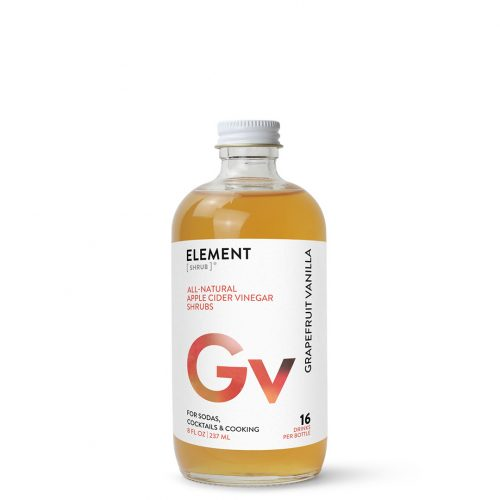 ELEMENT Products | Grapefruit Vanilla Shrub