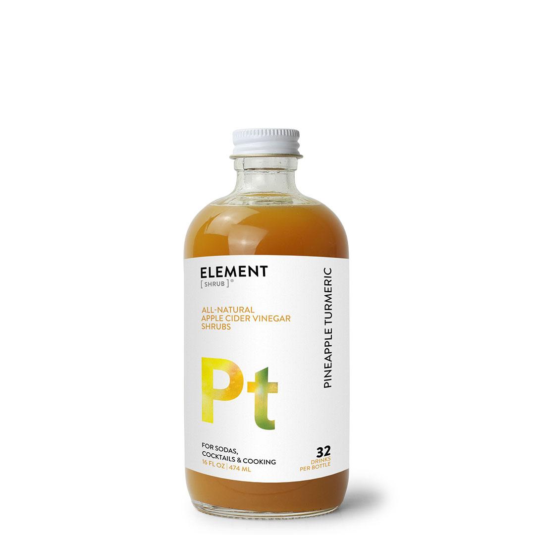 ELEMENT Products | Pineapple Turmeric Shrub
