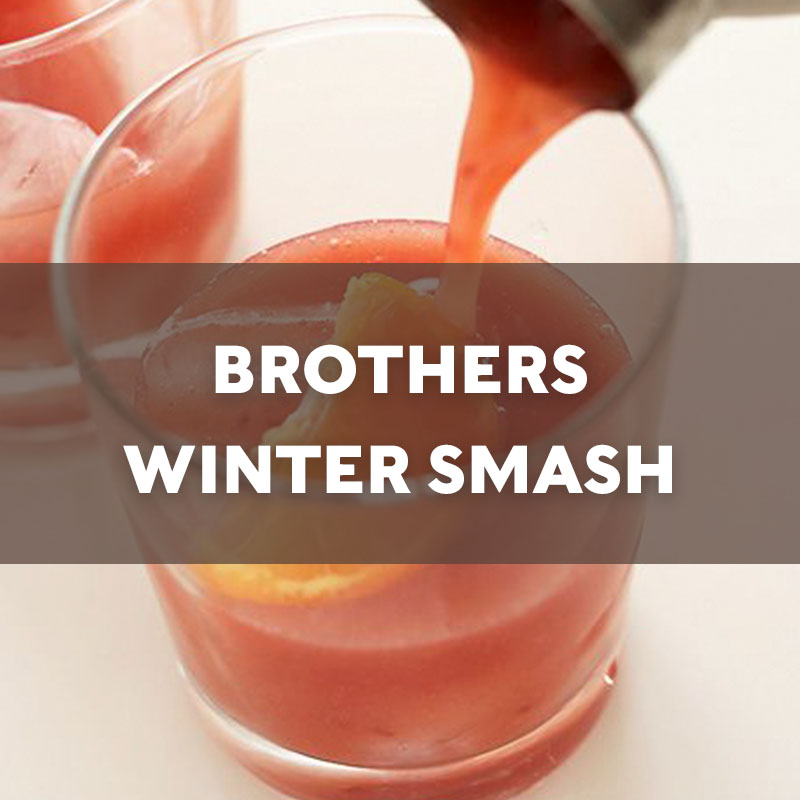 Brothers Winter Smash | Cocktail | A. Smith Bowman Distillery