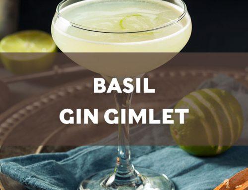 Basil Gin Gimlet