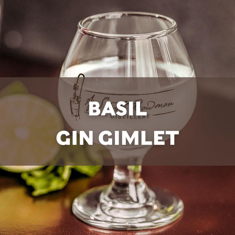 Basil Gin Gimlet | Cocktail | A. Smith Bowman Distillery