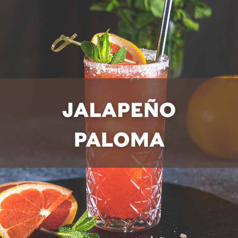Jalapeno Paloma | Cocktail | A. Smith Bowman Distillery