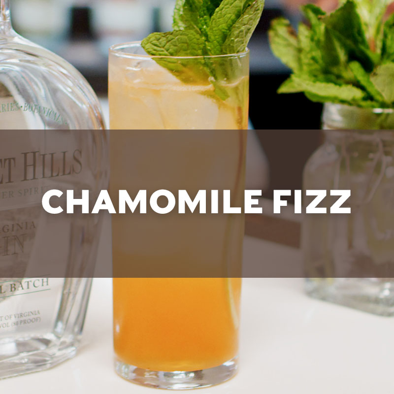 Chamomile Fizz | Cocktail | A. Smith Bowman Distillery
