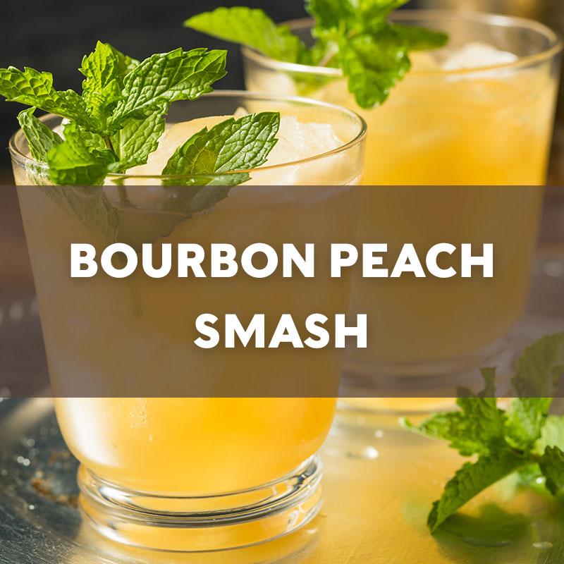 Bourbon Peach Smash | Cocktail | A. Smith Bowman Distillery