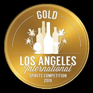 2019 Los Angeles International Spirits Competition Gold Award