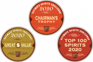 2020 Ultimate Spirits Challenge Great Value, Chairman's Trophy, and Top 100 Spirits Awards