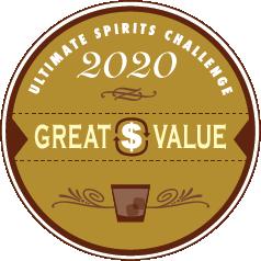 2020 Ultimate Spirits Challenge Great Value Award