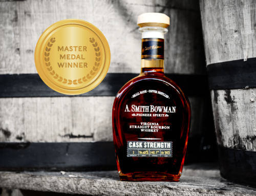A. Smith Bowman Cask Strength Bourbon Takes Home Master Medal in its Inaugural Competition