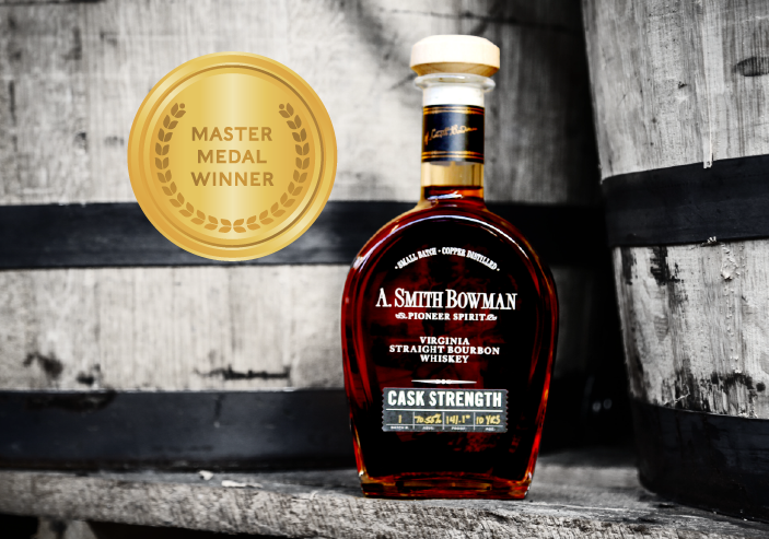 A. Smith Bowman Cask Strength wins Master Medal at the 2021 American Whisky Masters blog