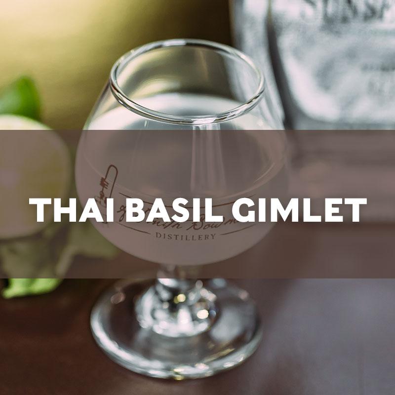 Thai Basil Gimlet Cocktail Recipe
