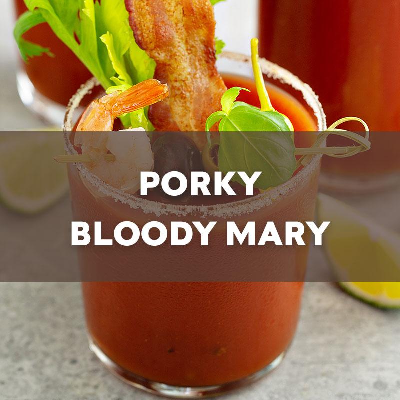 Porky Bloody Mary Cocktail Recipe