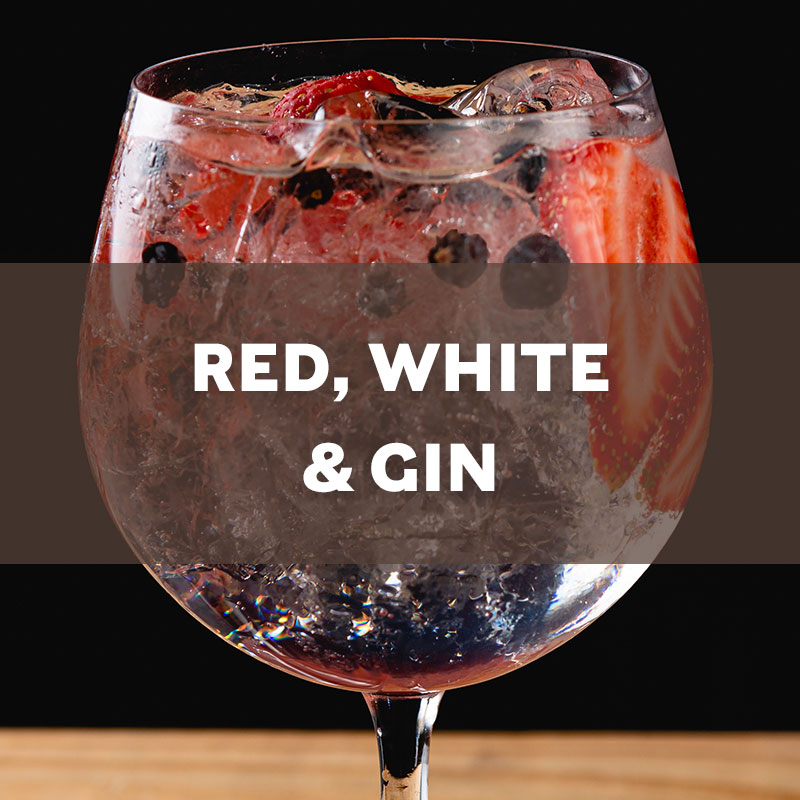 Red, White, and Gin Cocktail Recipe