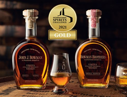 A. Smith Bowman Distillery Receives Two Gold Medals at 2021 International Spirits Challenge