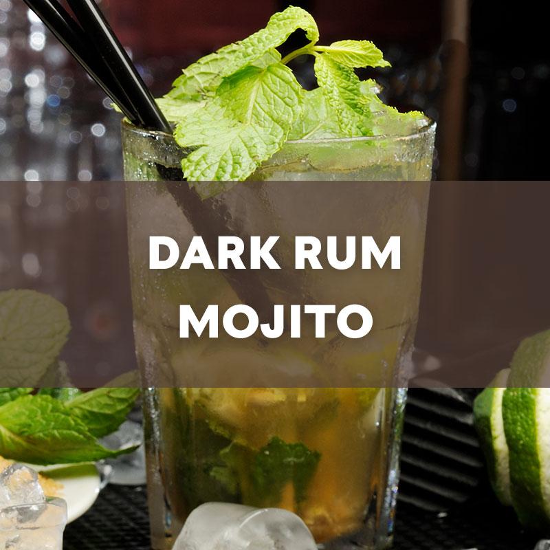 Dark Rum Mojito Cocktail Recipe
